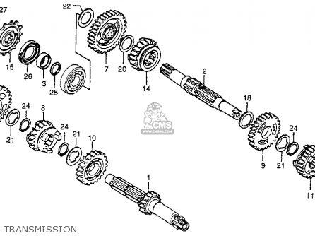Honda CR250R ELSINORE 1978 USA parts lists and schematics