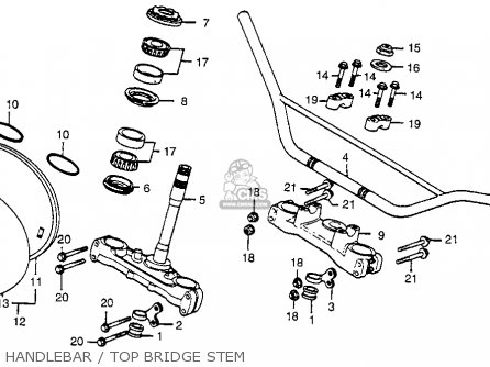 Honda CR250R ELSINORE 1979 (Z) USA parts lists and schematics