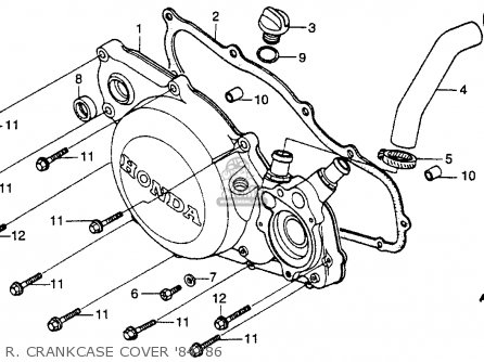 Honda Recon 250 Parts Diagram Suspension