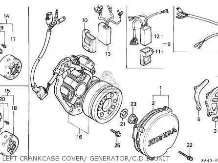 Honda CR250R ELSINORE 1987 (H) EUROPEAN DIRECT SALES / CMF
