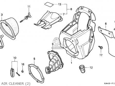 Honda CR250R ELSINORE 1989 (K) CANADA parts lists and