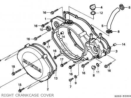 Honda Cr250r Elsinore 1991 (m) Australia parts list