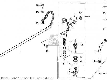 Honda CR250R ELSINORE 1992 (N) EUROPEAN DIRECT SALES parts