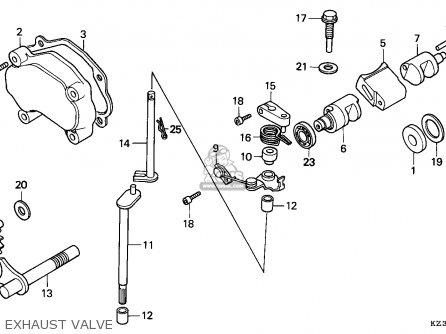 Honda CR250R ELSINORE 1993 (P) AUSTRALIA parts lists and