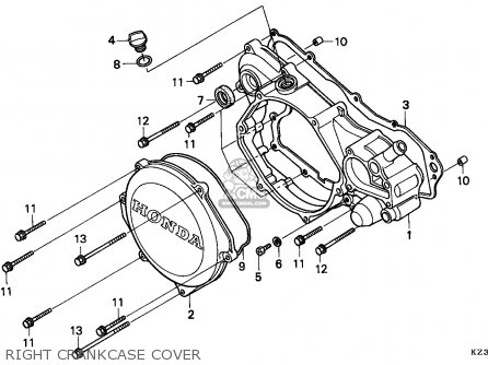 Honda CR250R ELSINORE 1995 (S) EUROPEAN DIRECT SALES parts