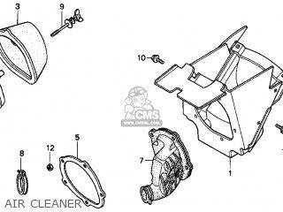 Honda CR250R ELSINORE 1999 (X) USA parts lists and schematics