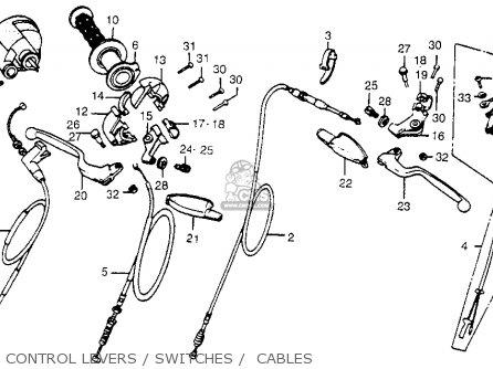 Honda Cr480r 1983 (d) Usa parts list partsmanual partsfiche