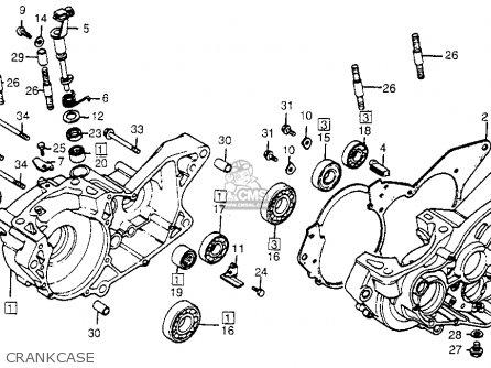 Honda Cr480r 1983 Usa parts list partsmanual partsfiche