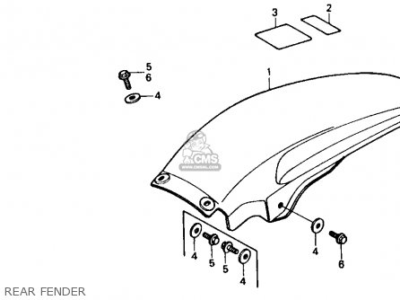 Honda CR500R 1985 (F) USA parts lists and schematics