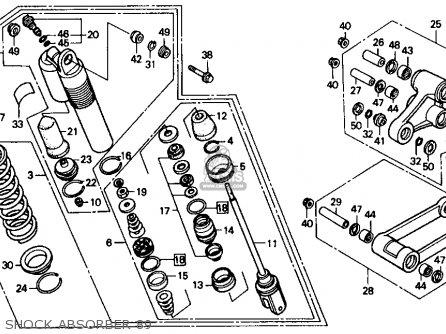 Honda Magna Engine Diagram, Honda, Free Engine Image For