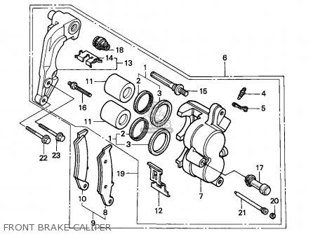 Honda CR500R 1990 (L) AUSTRALIA parts lists and schematics
