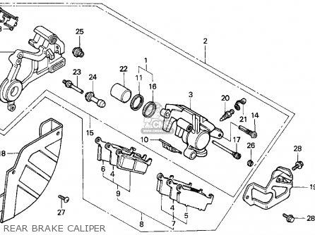 Honda Cr500r 1990 (l) Usa parts list partsmanual partsfiche