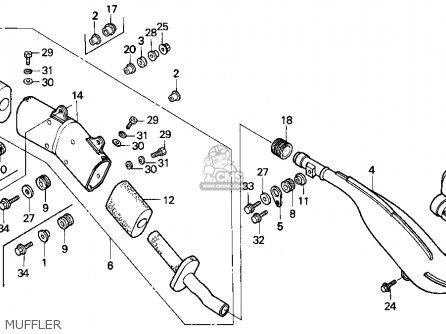 Honda CR500R 1991 (M) USA parts lists and schematics