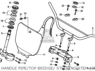 Honda Cr500r 1992 (n) European Direct Sales Cmf parts list