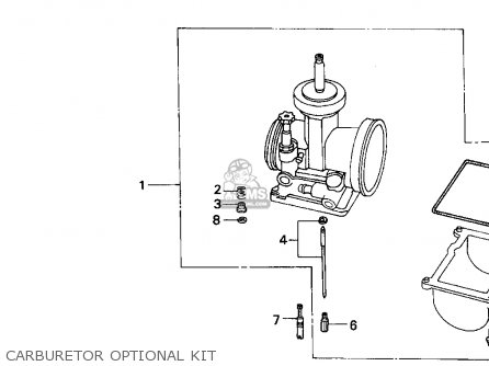Honda CR500R 1993 (P) USA parts lists and schematics