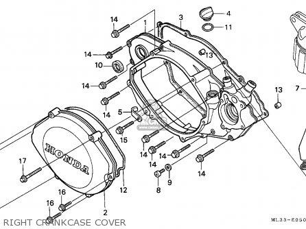 Honda Cr500r 1997 (v) European Direct Sales / Cmf parts