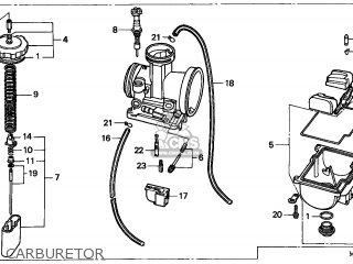 Honda CR500R 1998 (W) EUROPEAN DIRECT SALES / CMF parts