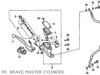 Honda Cr500r 1998 (w) Usa California parts list