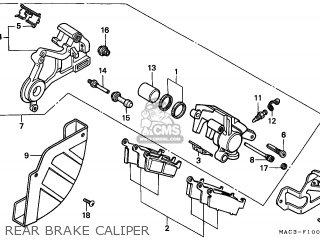 Honda CR500R 2001 (1) CANADA CMF parts lists and schematics