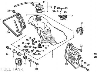 Honda CR500R 2001 (1) USA parts lists and schematics