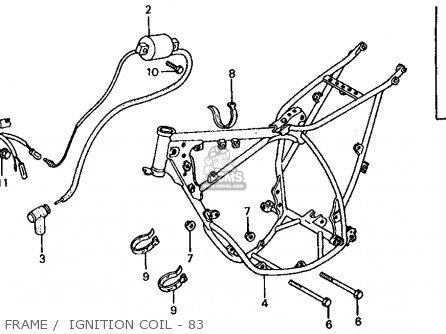 Honda CR60R1 1983 (D) USA parts lists and schematics