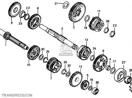 Honda Cr60r2 1984 (e) Usa parts list partsmanual partsfiche