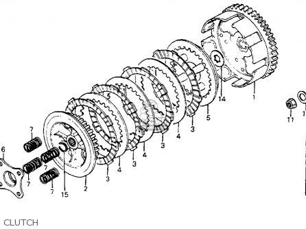 Honda Cr80r 1983 Usa parts list partsmanual partsfiche