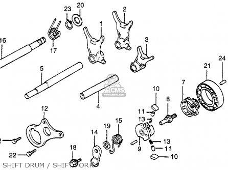 Honda CR80R 1984 (E) USA parts lists and schematics
