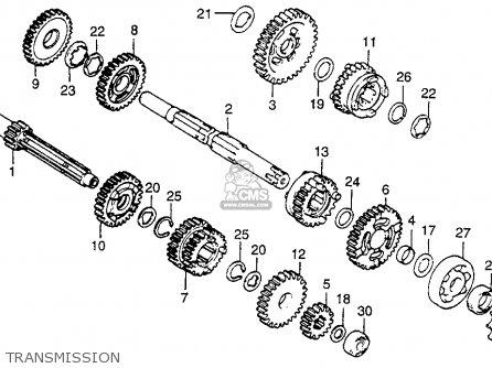 Honda Cr80r 1984 (e) Usa parts list partsmanual partsfiche