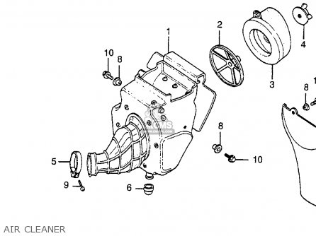 Honda cr80 engine diagram