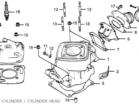 Honda Atc 70 Clutch Diagram, Honda, Free Engine Image For