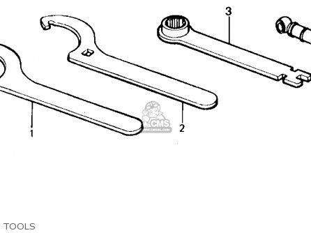 Honda Cr80r 1986 (g) Usa parts list partsmanual partsfiche