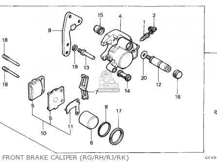 Honda CR80R 1988 (J) EUROPEAN DIRECT SALES parts lists and