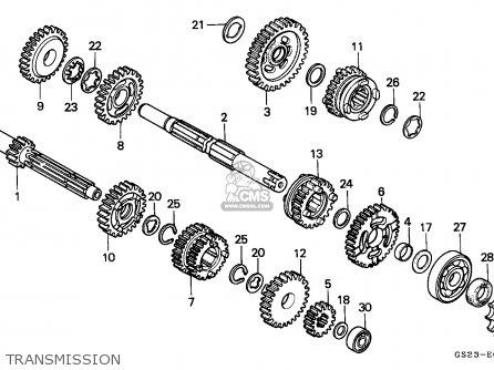 Honda Cr80r 1990 (l) Australia parts list partsmanual