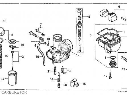 Honda Cr80r 1990 (l) Sweden parts list partsmanual partsfiche