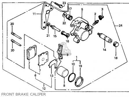 Honda CR80R 1990 (L) USA parts lists and schematics