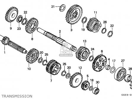Honda CR80R 1992 (N) AUSTRALIA parts lists and schematics