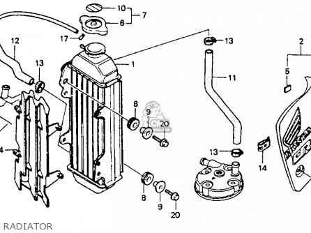 Honda Cr80r Engine Diagram Honda GL1500A Wiring Diagram