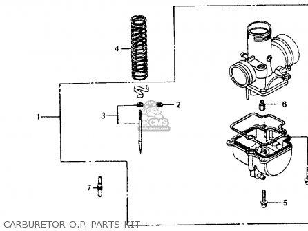 Honda CR80R 1994 (R) USA parts lists and schematics