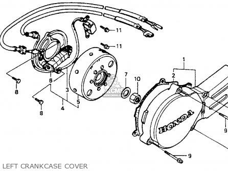 Honda Cr80r 1994 (r) Usa parts list partsmanual partsfiche