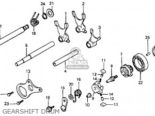 Honda Cr80r 1995 (s) Usa parts list partsmanual partsfiche