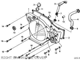 Honda CR80R 1996 (T) AUSTRALIA parts lists and schematics