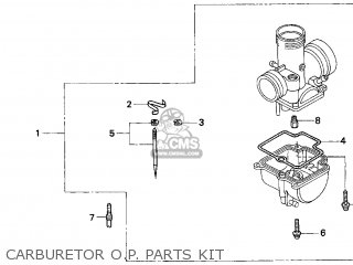Honda Cr80r 1998 (w) Usa parts list partsmanual partsfiche