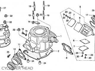 Honda Cr80r 1998 (w) Usa parts list partsmanual partsfiche