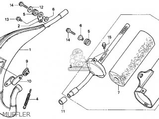 Honda Cr80r 1999 (x) Usa parts list partsmanual partsfiche