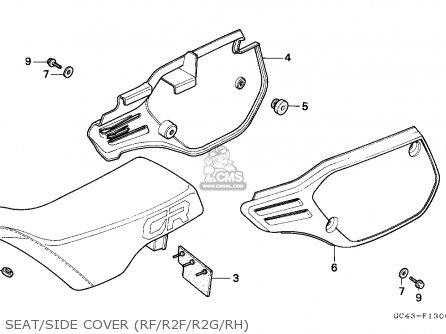 Honda CR80R2 1985 (F) EUROPEAN DIRECT SALES parts lists