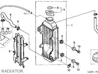 Honda CR85R 2003 (3) USA parts lists and schematics