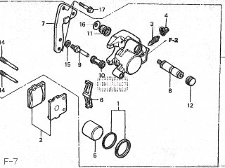 Honda CR85R 2004 (4) JAPAN HE07-110 parts lists and schematics
