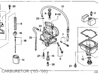 Honda CR85R 2005 (5) USA parts lists and schematics