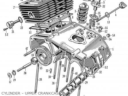 Honda Cr93 Race Version parts list partsmanual partsfiche